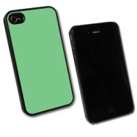 iPhone 4/4s, Taschen / Cover - BackCover Prime, Softtouch Mint komp zu Ap iPhone 4