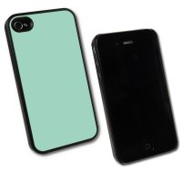 iPhone 4/4s, Taschen / Cover - BackCover Prime, Softtouch Hellblau komp zu Ap iPhone 4