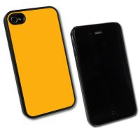 iPhone 4/4s, Taschen / Cover - BackCover Prime, Softtouch Gelb komp zu Ap iPhone 4
