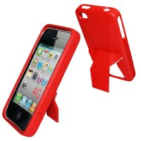 iPhone 4/4s, Taschen / Cover - BackCover Hold rot kompatibel zu Apple iPhone 4/4S