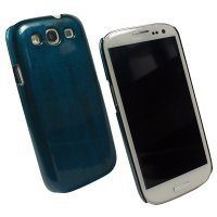 Backcover/Skin/TPU/Silikon - BackCover Effect PC Türkis kompatibel zu Samsung Galaxy S3  I9300